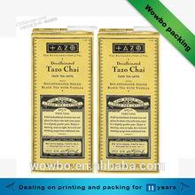 Decorative High quality handmade tea paper box