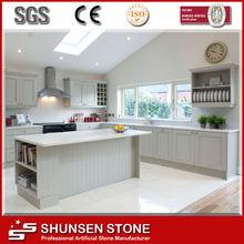 caldo vendita neve pietra di quarzo bianco per sqc034 controsoffitto della cucina