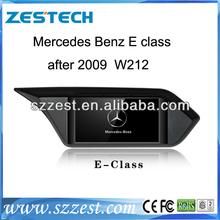 ZESTECH China Factory OEM 2 Din Touch screen Car Dvd for Mercedes-Benz E Class W212 2009 -2012