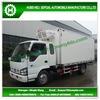 23000L ISUZU 4*2 refrigerator van truck for sale
