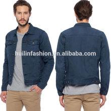 huilin fashion apperal newest winter jacket for men denim jacket