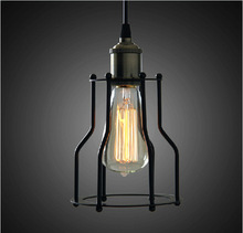 New design Metal Wire Cage Lamp, Ceiling Mount, Pendant Light, Antique