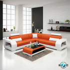 Small size lovely cute leather sofa