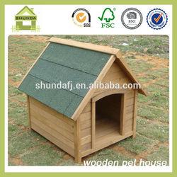 SDD04 new design fir wood dog kennel
