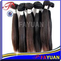 Fayuan Top Cheap Grade 7a Straight Human Hair Weaving 100% Brazilian Indian Hair Extension