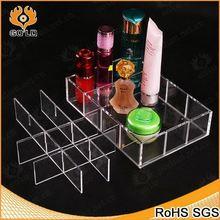 clear perfume display case,fashion design hook box display