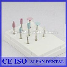 [ AiFan Dental ] High Gloss Silicone dental polishing kit for Porcelain and Composite Materials RA0309