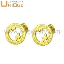 Wholesale jewelry 316L stainless steel earring findings (E0150)