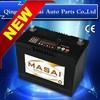 Hot Fashion Standard JIS Capacity 50AH 12v Rechargeable Sealed Lead Acid Batteries