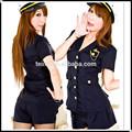 Alibaba usa femelle, spandexdesign uniforme de la police
