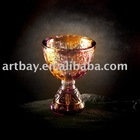 Crystal Classical Goblet with Auspicious carving