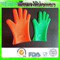 cinco dedos de guantes de silicona vajilla hornear de silicona