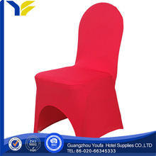 twill manufacter 100% cotton royal blue lycra nylon stretch chair cover sales decoration