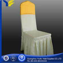 printed Guangzhou satin cheap popular fancy green spandex lycra chair cover decoration