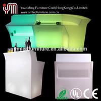 Modern Waterproof Outdoor Plastic bar Counter Led Light
