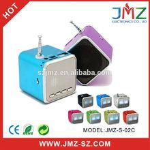 Mini music portable amplifier sound box speaker