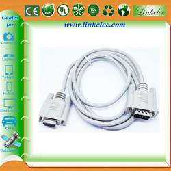 Gold plated factory supply audio output 9pin db9 to vga cable specifaction