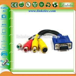 Factory supply wholesale hacer un cable vga a rca casero