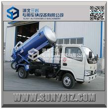 3cbm,4cbm tank truck,small diesel truck,sewage vacuum pump truck