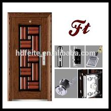 battery powered door lock steel door metal security doors