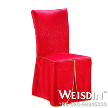 plain dyed manufacter polyester/cotton 2014 beautiful chair covers organza sashes