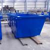 Outdoor Galvanized steel skip bin Medical Waste bin