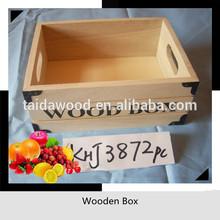 cheap wooden crate