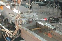 plastic nylon PA/PA66 pellet extruder machine for plastic granules