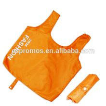 OEM&ODM Silk Print Polyester Folding Shopping Bag