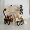 2014 caliente de la venta de juegos para niños y educatinal fancy juguete de bricolaje camión de juguete