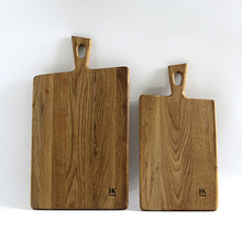 2014 hign style, Oak wood cutting board,with handle,big