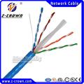 Caliente venta de sólido de cobre plena cat6 cable de red utp cable( venta caliente)