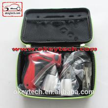 Okeytech KLOM professional pink lock pick locksmith tools with 2 metal head