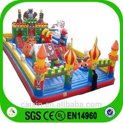 2014 newest design kids cartoon kids inflatable products /inflatable playground /inflatable amusement park /Inflatable castle