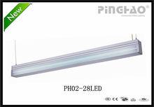 2014 PH02-28 LED indoor new design fluorescent office ceiling light fixture