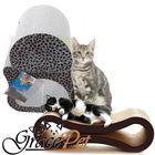 Hih quality corrugated cardboard cat scratcher lounge pet accessories