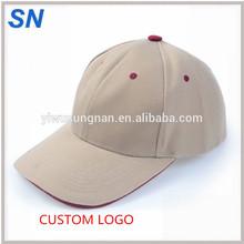 wholesale cheap men cotton sun hat baseball caps with VELCRO