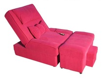 Popular comfortable leather sofa pink(YA-630)