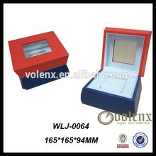 Beautiful Design Wooden Handmade Leather Watch Box