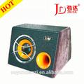 2014 alta qualidade 8 polegadas 100w/12v amplificador de subwoofer subwoofer subwoofer ativo