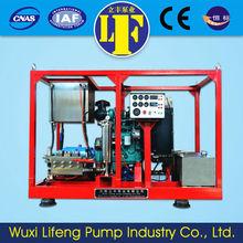 diesel fuel tank with pump
