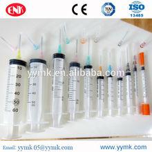 Hot sale price medical 3 parts 10cc 20cc 30cc 50cc disposable syringes