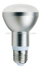 CE ROHs factory price aluminum warm white 7w e27 r63 led bulb