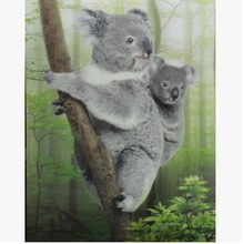 3D picture/ cute animals poster /home decoration