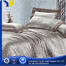 single bed china wholesale stripe white horses bedding sets