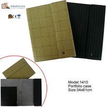 leather stationery set 100% wool stationery set Portfolio case