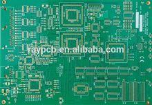 Custom Duble-Sided Fr4 Aluminum Base PCB Immersion Gold / HASL Pb Free