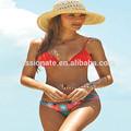 2014 hign qualità aperto a caldo rosso bikini sesso donne foto
