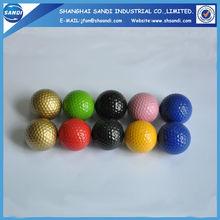 2 pieces colorful range practice golf balls
