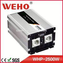 CE&ROHS certificate 2500w pure sine wave ac power car inverter